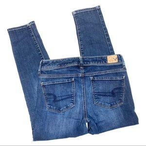 American Eagle super skinny jeans sz 4 short